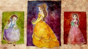 Three Belles by TaijaVigilia
