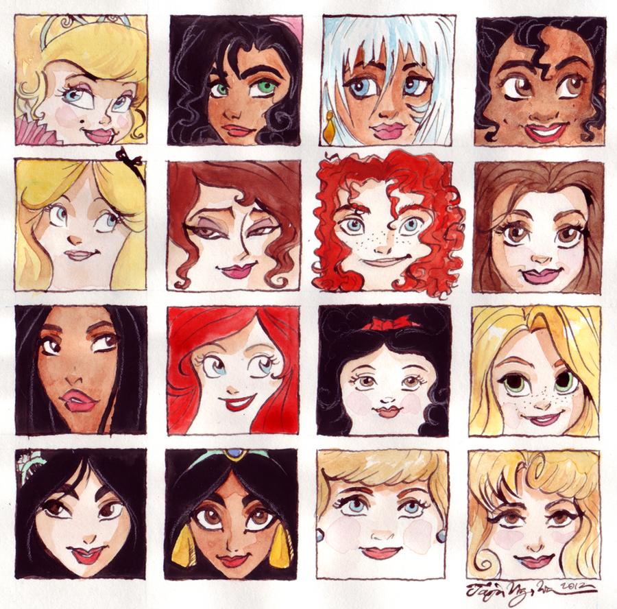 Girls squared by TaijaVigilia