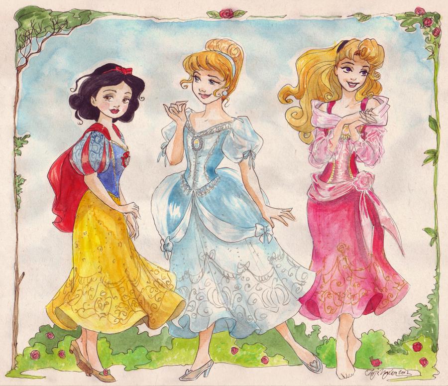 Classic Princesses by TaijaVigilia