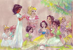Regency princess picnic