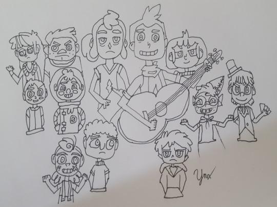 Camp Camp Crew by YnxTheLynx