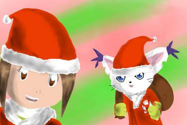 Merry X-mas by Taniaetc