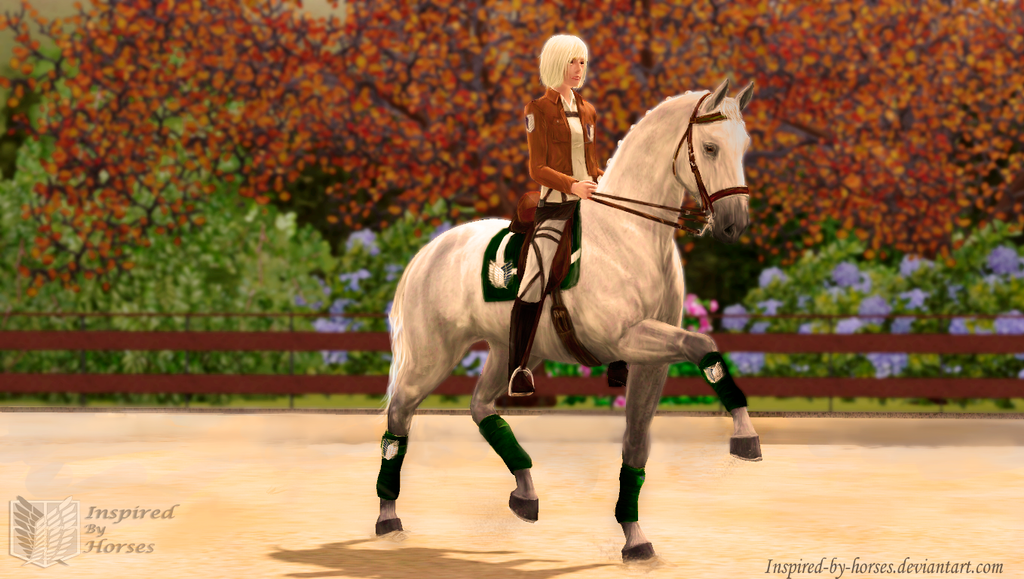 DeviantArt: More Like Dressage in Sims 3 Pets by inspired-by-horses