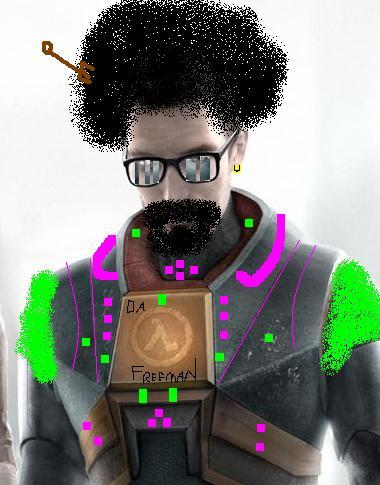 Funky Freeman by Kaka-fail-at-art