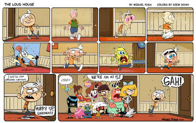 The Loud House Celebrates 25 Years of Nicktoons! by hamursh
