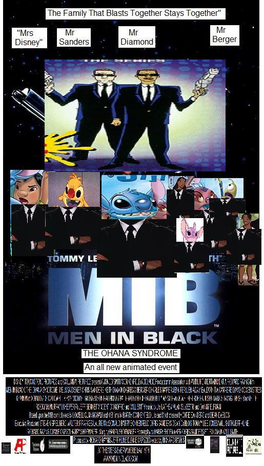 Men in Black: The Ohana Syndrome Poster by hamursh