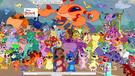 Stitch and Expierments Poster (My Version)