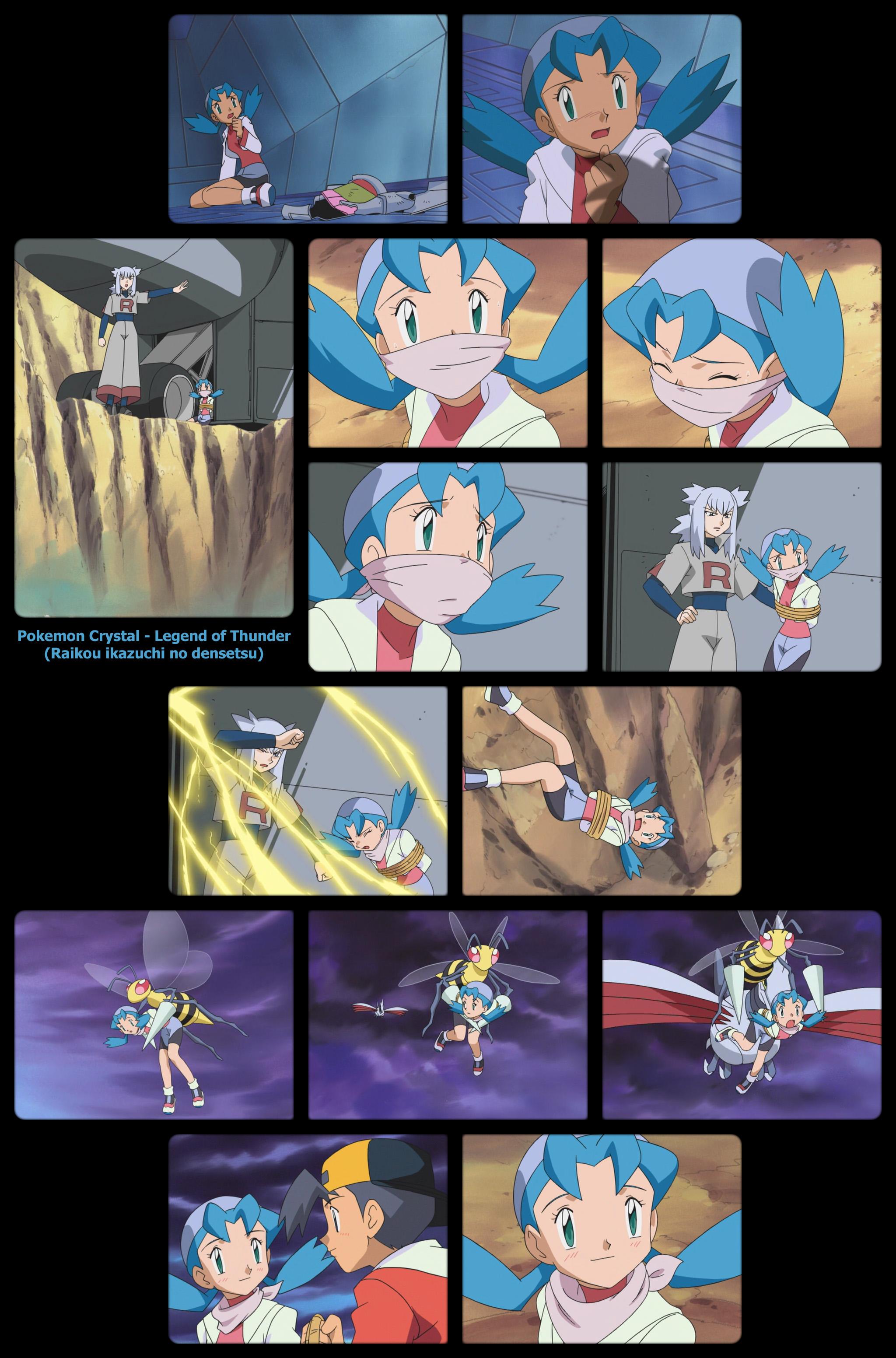 Pokemon Crystal Legend Of Thunder By Kayjay333 On Deviantart