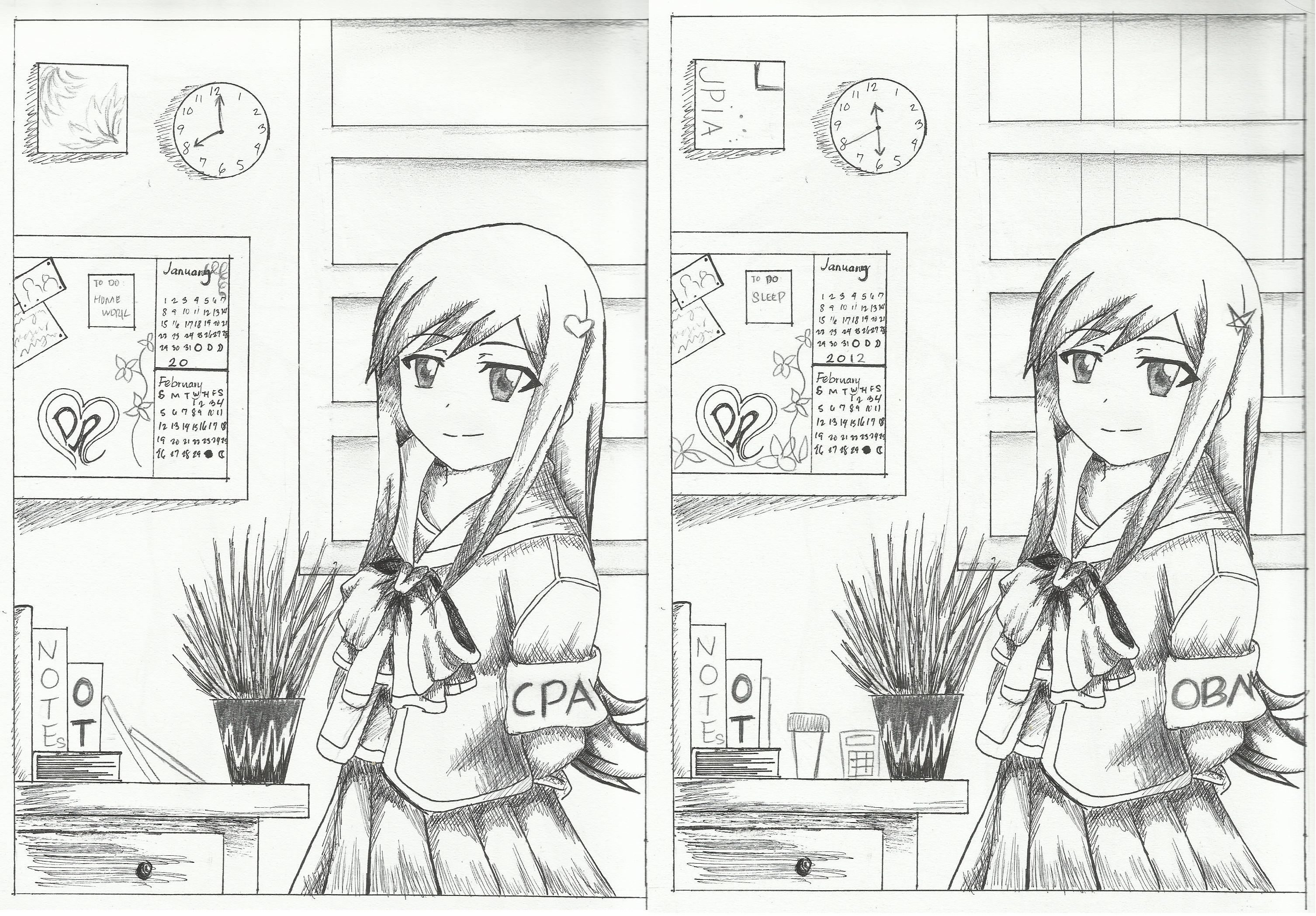 SPOT THE DIFFERENCE by p3paula on DeviantArt