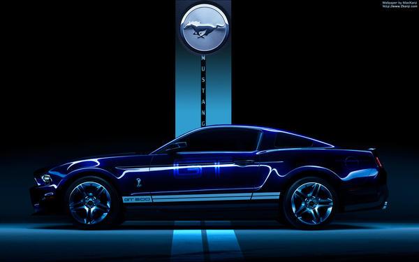 Ford Mustang GT Wallpaper by MaviKanji