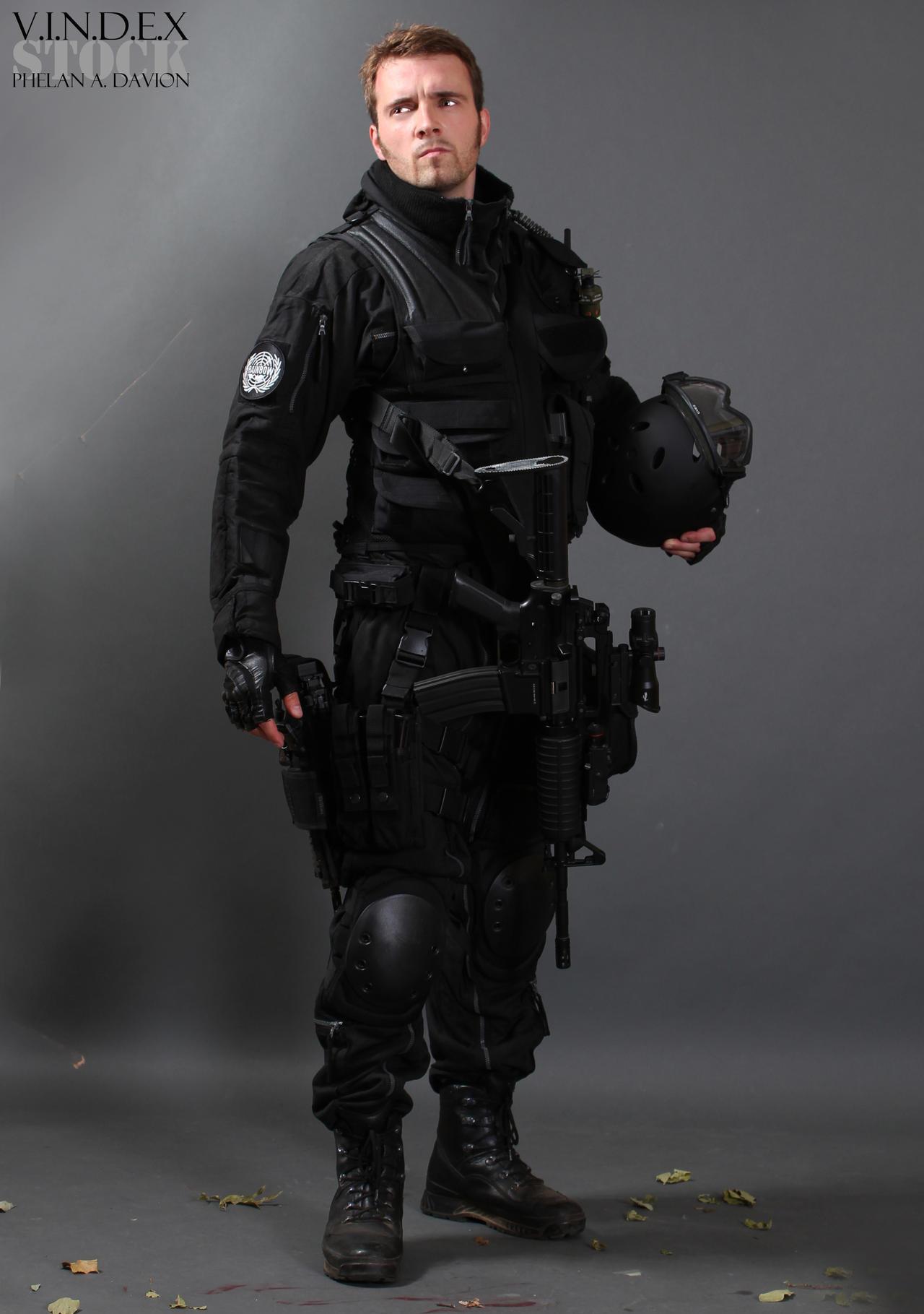 Assault Soldier STOCK IV by PhelanDavion