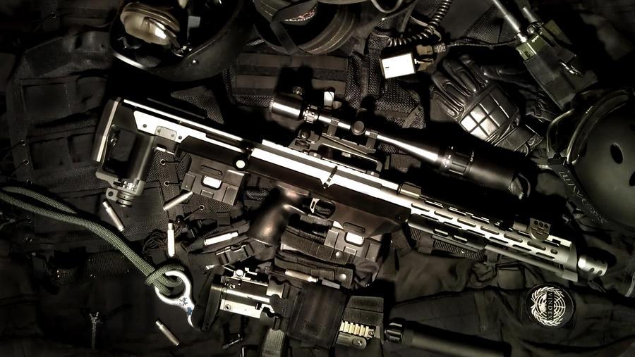 GSG 9 DSR 1 Sniper Rifle Lapua Magnum By PhelanDavion