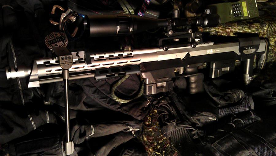 DSR 1 GSG 9 Sniper Rifle Lapua Magnum By PhelanDavion