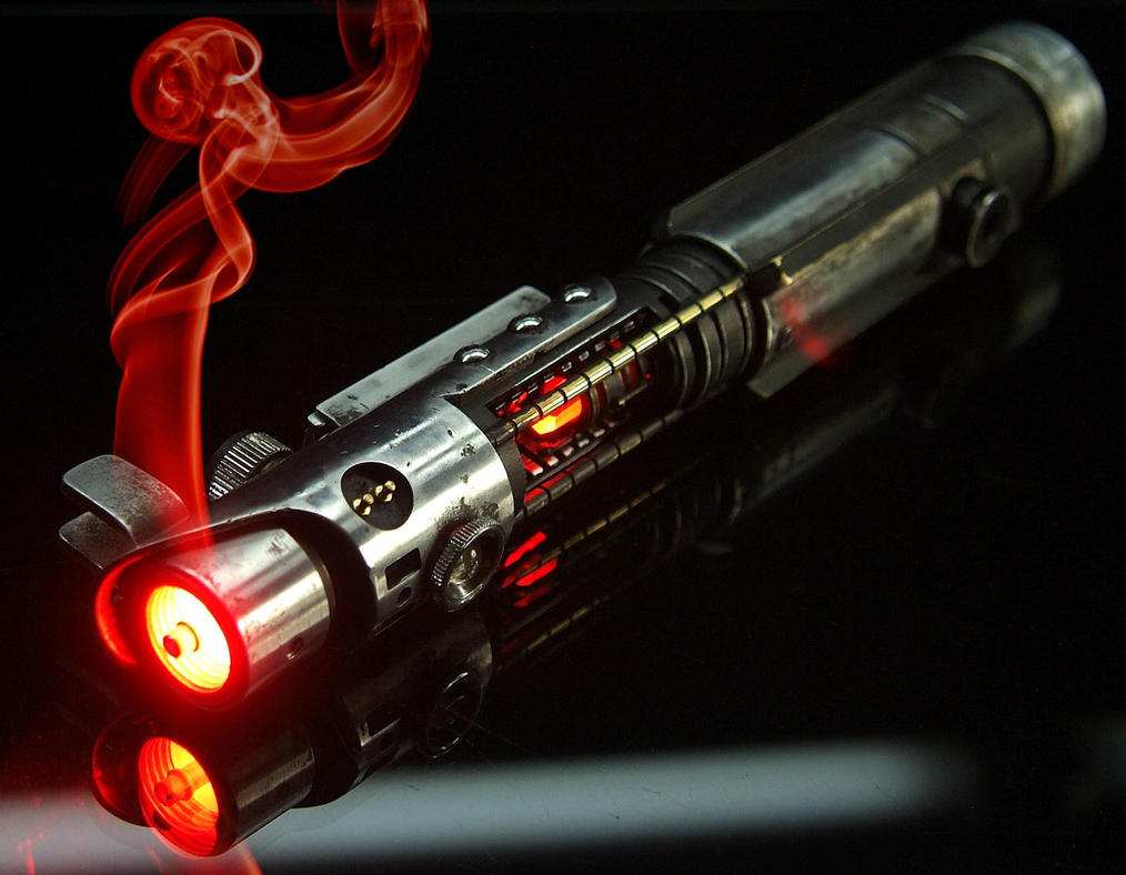 The Starkiller V3 Lightsaber by PhelanDavion