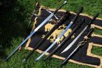 3 different Sword Types (Stock)