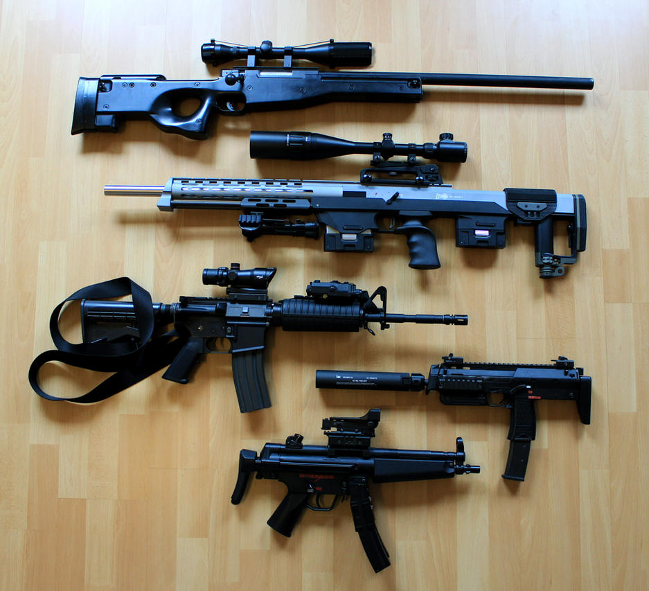Gun Relations STOCK by PhelanDavion