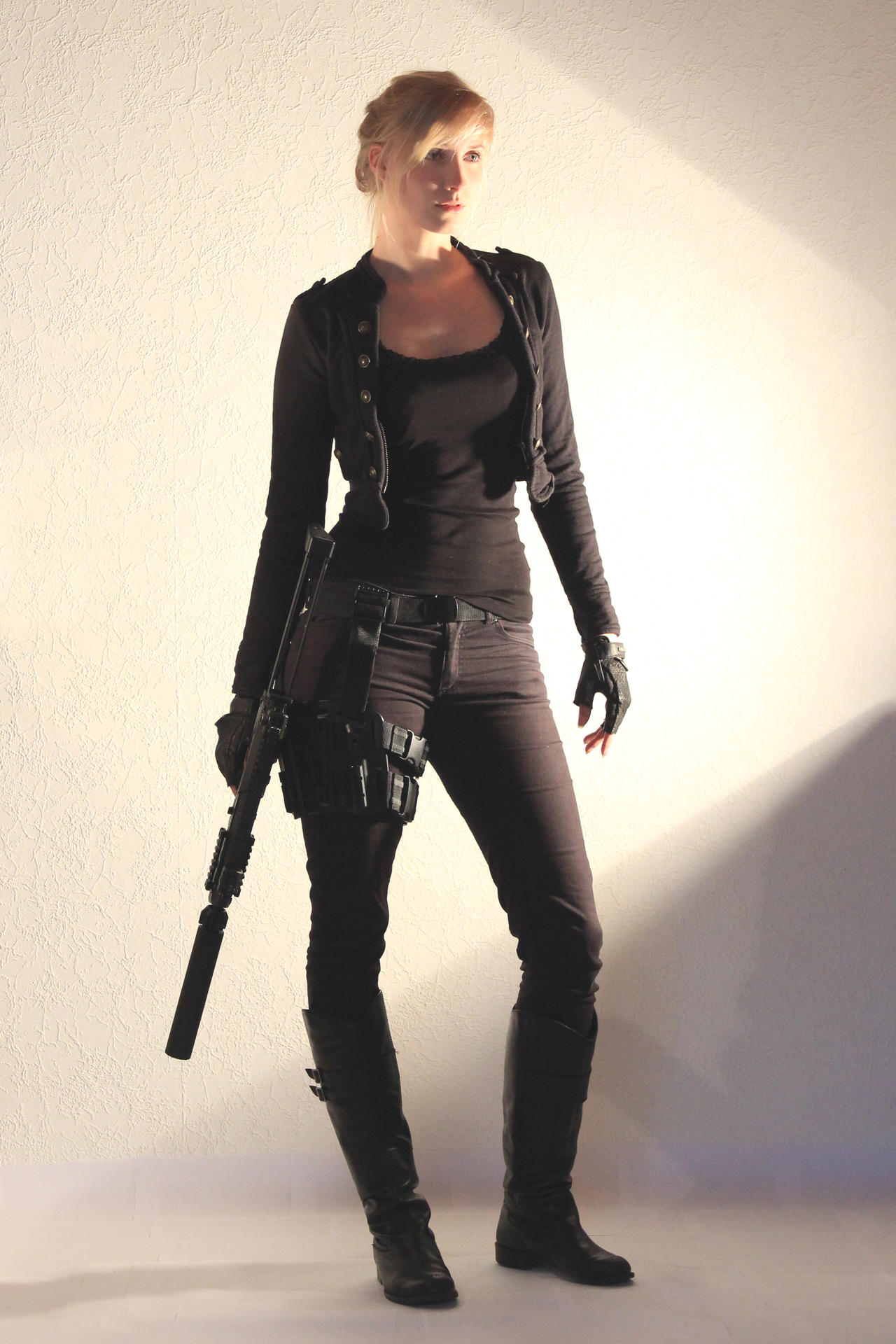 Female Agent STOCK II by PhelanDavion