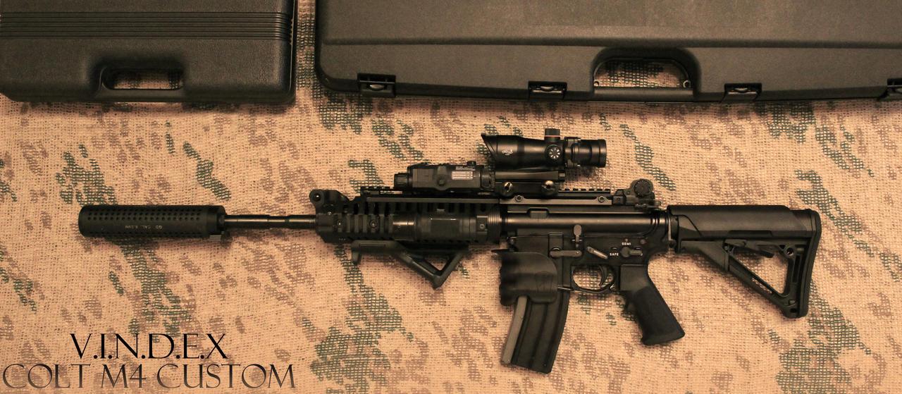 Colt M4 Custom STOCK by PhelanDavion