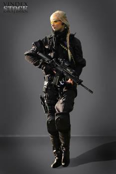 Female Universal Soldier STOCK II