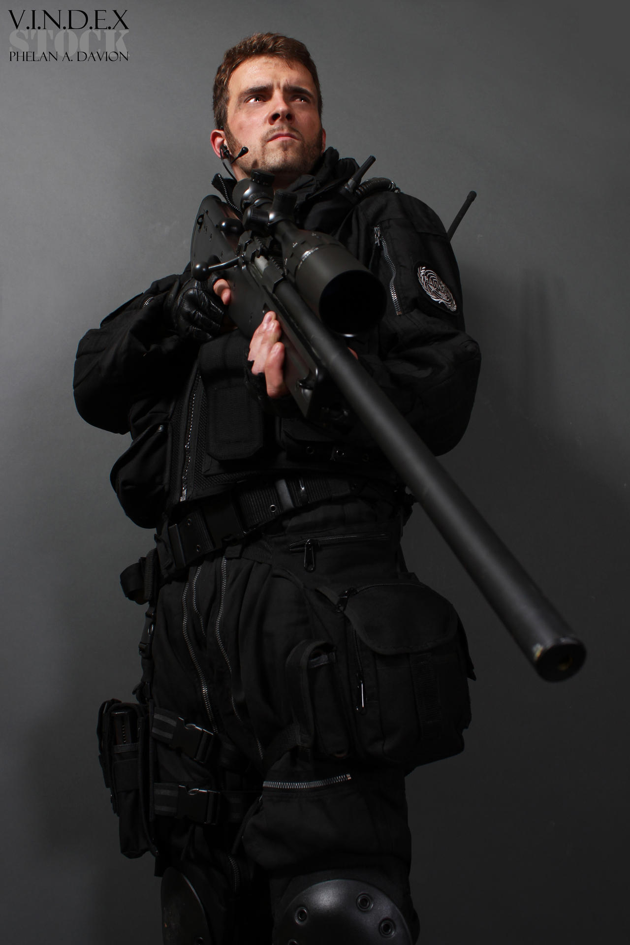 Sniper STOCK IX by PhelanDavion