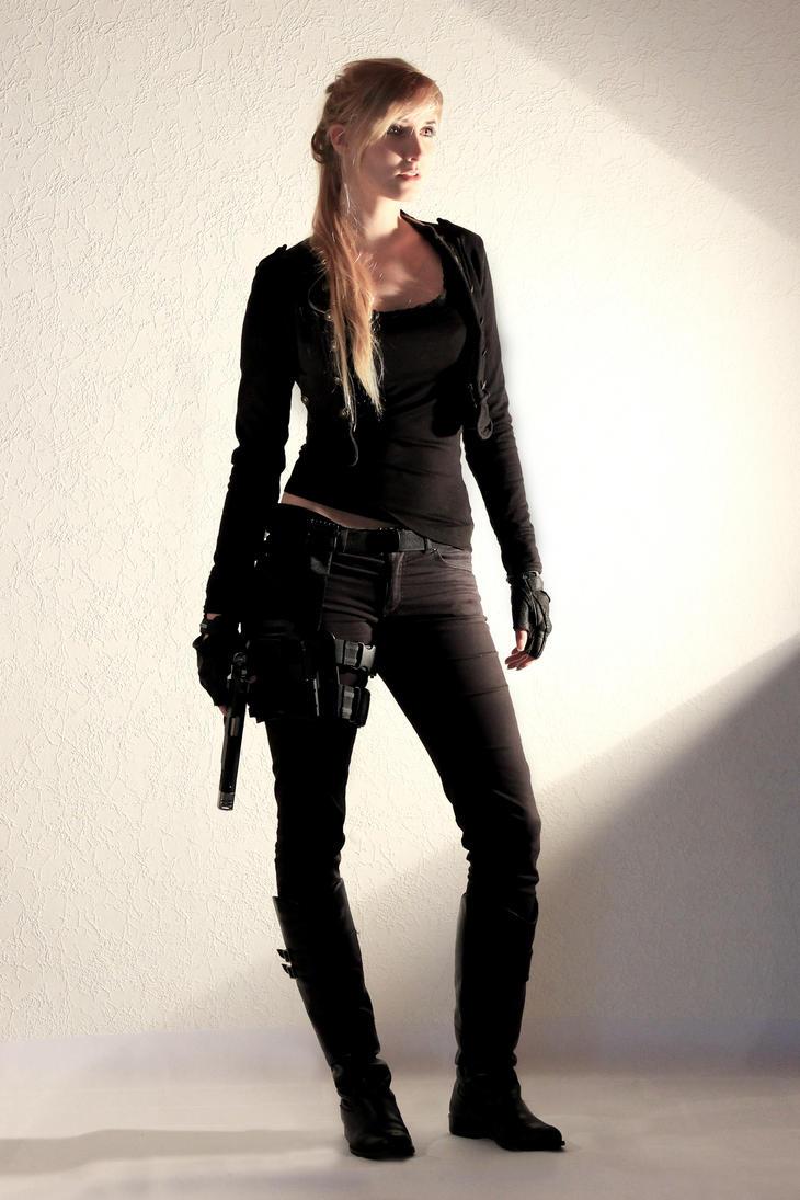 Female Agent STOCK V by PhelanDavion