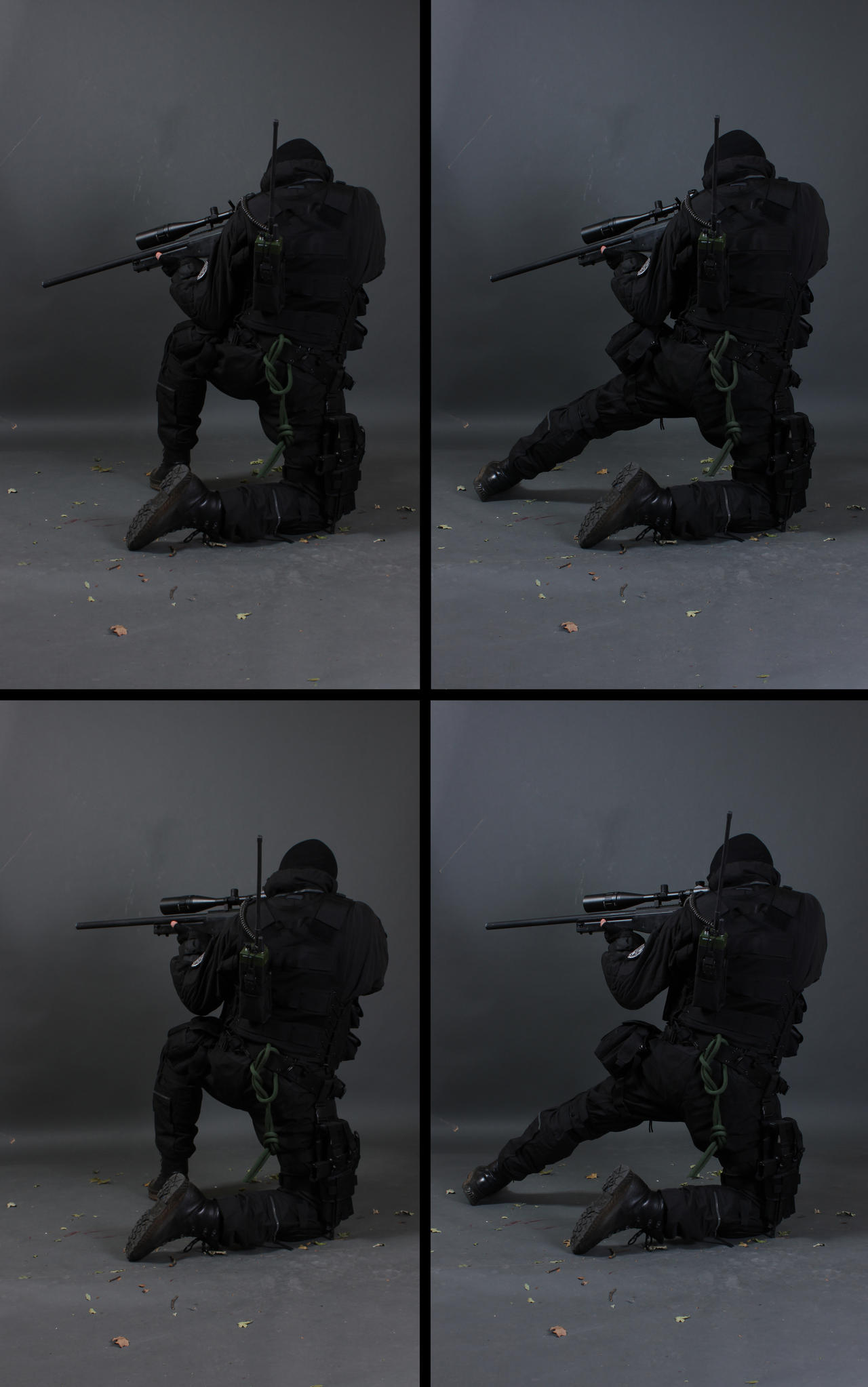 Sniper Back View STOCK I by PhelanDavion