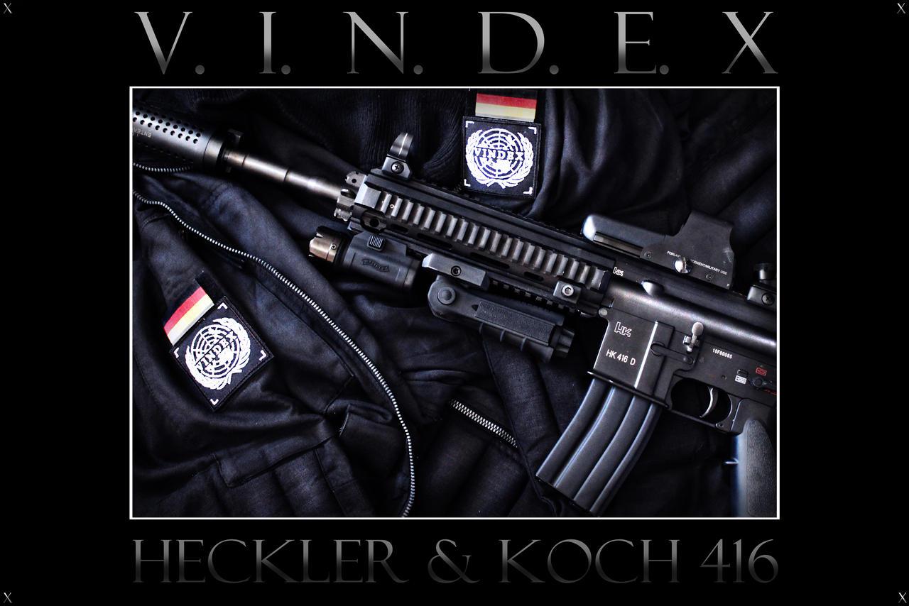 V.I.N.D.E.X HK 416 D by PhelanDavion