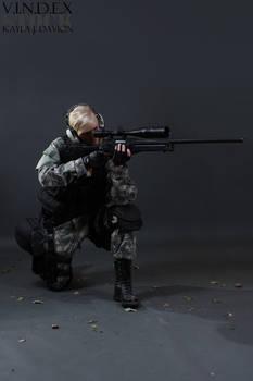 Female Sniper STOCK IV