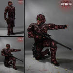 SCI FI Soldier STOCK I