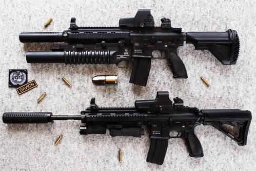 HK416 - Heckler+Koch Rifle STOCK