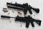 HK416 - Heckler+Koch Rifle STOCK II