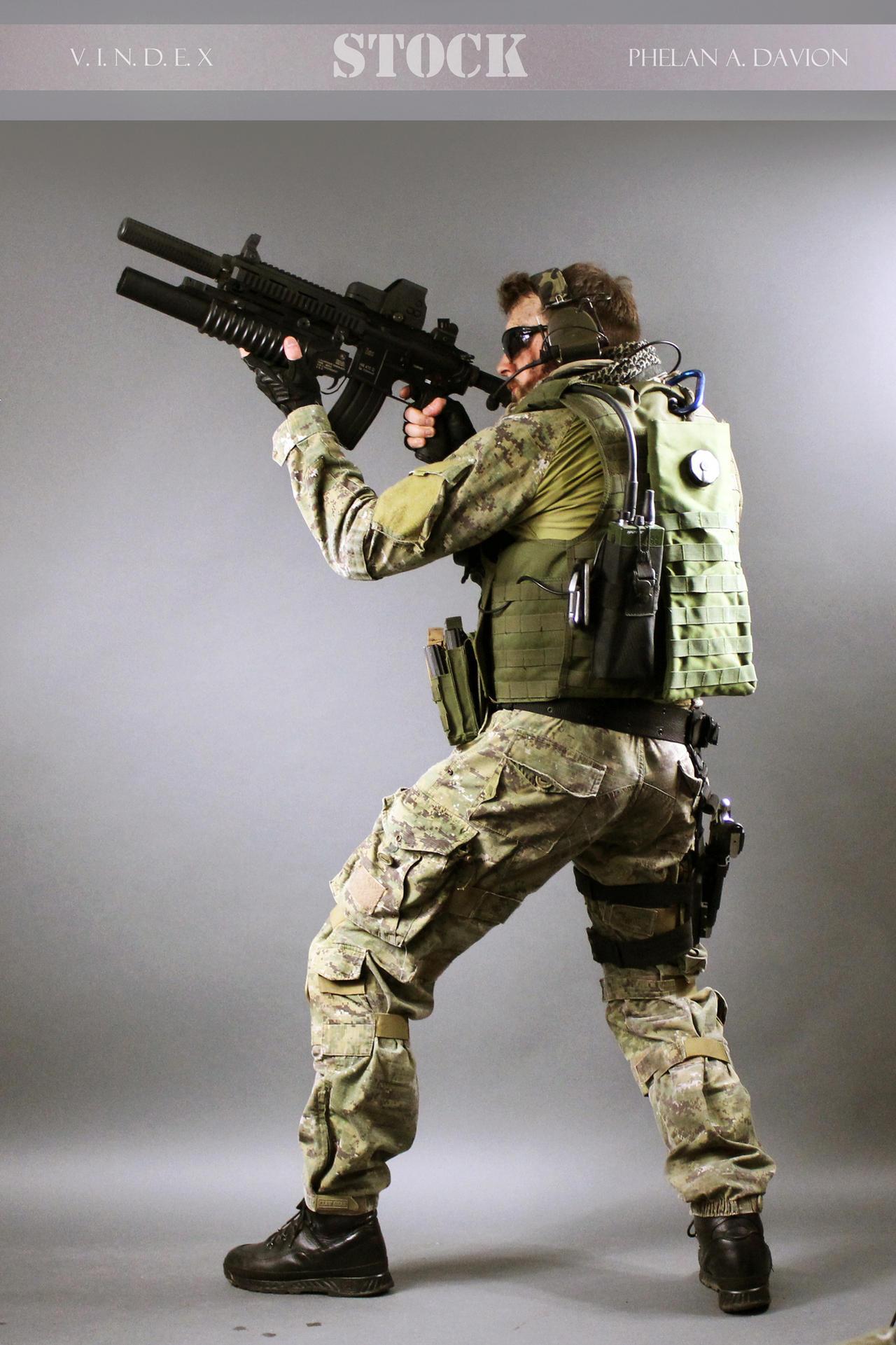 Combat Soldier STOCK VI