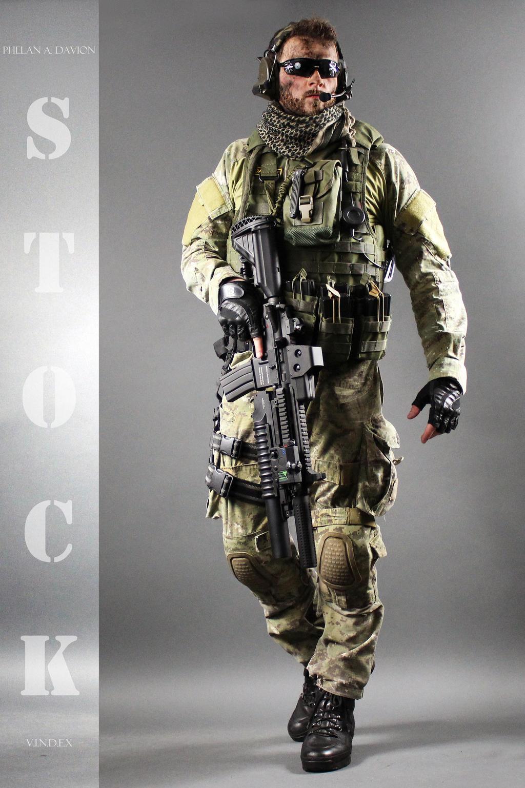Combat Soldier STOCK VIII