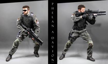 Universal Soldier STOCK VI by PhelanDavion