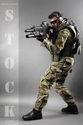 Combat Soldier STOCK IX