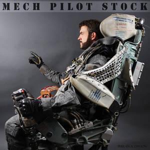 Mech Pilot Stock V by PhelanDavion