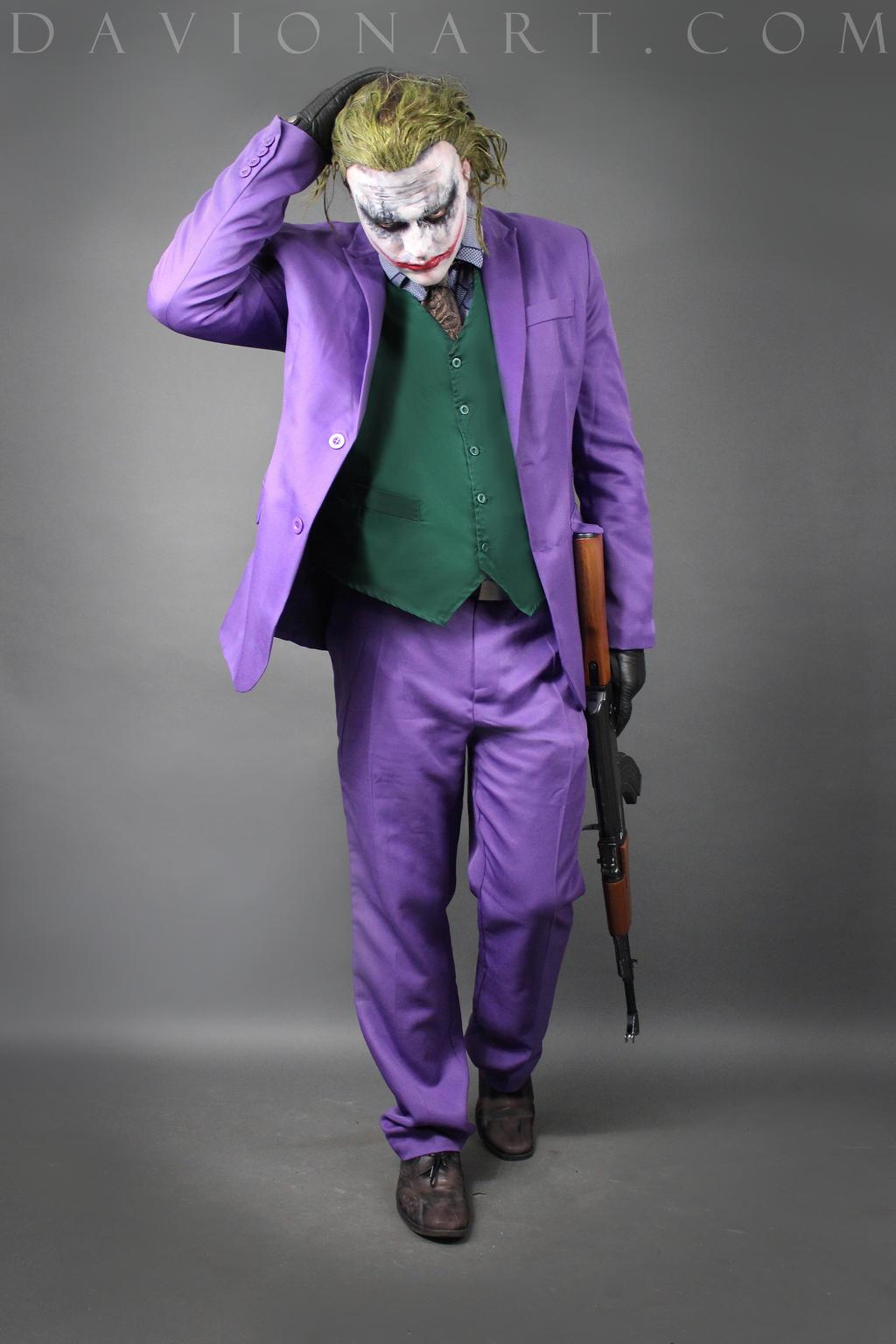 how to draw joker full body