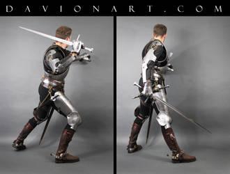 15th Century Knight STOCK VII by PhelanDavion