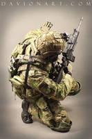 Combat Soldier STOCK I by PhelanDavion