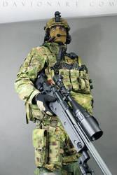 Combat Soldier STOCK V by PhelanDavion
