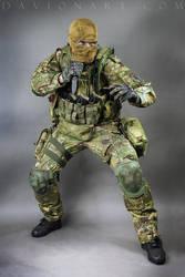 Combat Soldier STOCK X by PhelanDavion