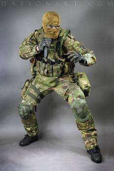 Combat Soldier STOCK X