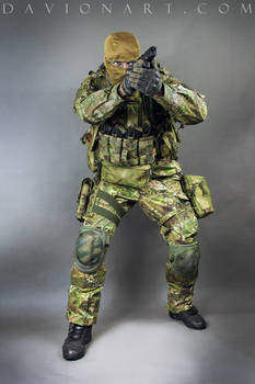 Combat Soldier STOCK XI