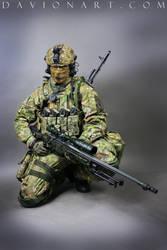 Combat Soldier STOCK XIV by PhelanDavion