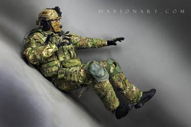 Combat Soldier STOCK XV