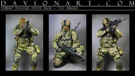 Combat Soldier Stock Pack