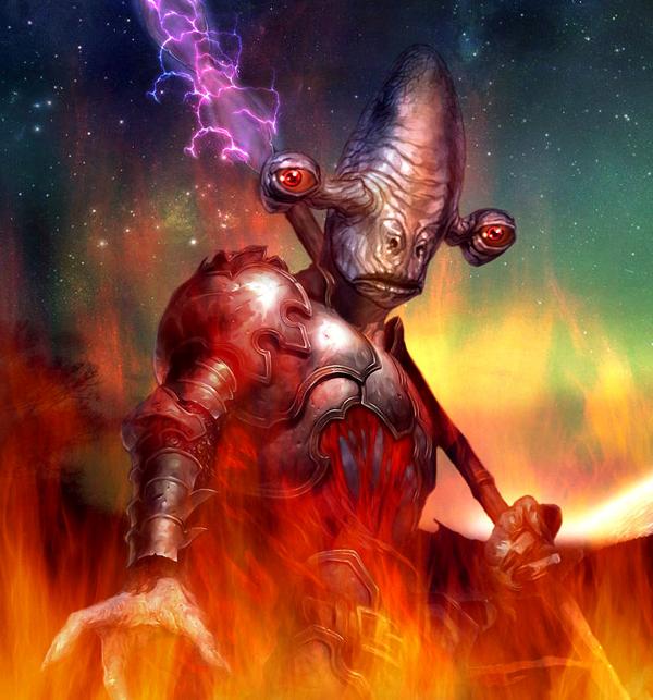 Predor Dol'kar: The Spiteful One - Rakata by Silfae