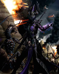Warlady Met'sol: The Treacherous One - Rakata by Silfae