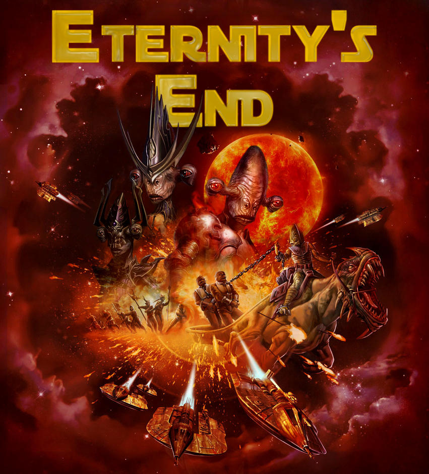 Eternity's End - Cover Art by Silfae
