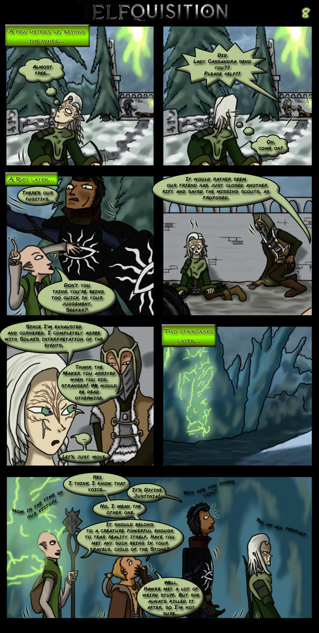 Dragon Age: Elfquisition - Page 8 by Silfae